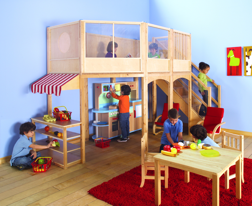 Play Lofts Daycare Lofts Preschool Lofts Play Furniture