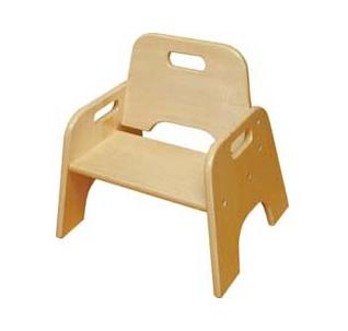 daycare furniture wooden highchair preschool wooden chair