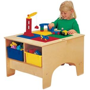 Lego Play Table Duplo Activity Tables Lego Table And