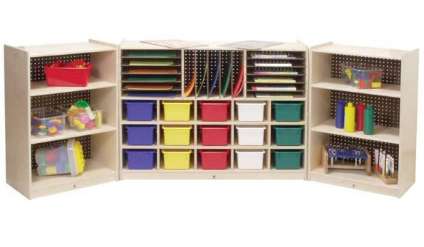 Folding Daycare Storage Cubbies Daycare And Preschool Classroom