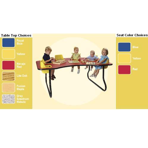 Surprising Infant And Toddler Feeding Tables Preschool Supplies Interior Design Ideas Clesiryabchikinfo
